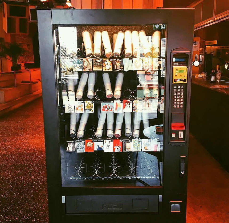 Risultati immagini per art vending machine Brighton