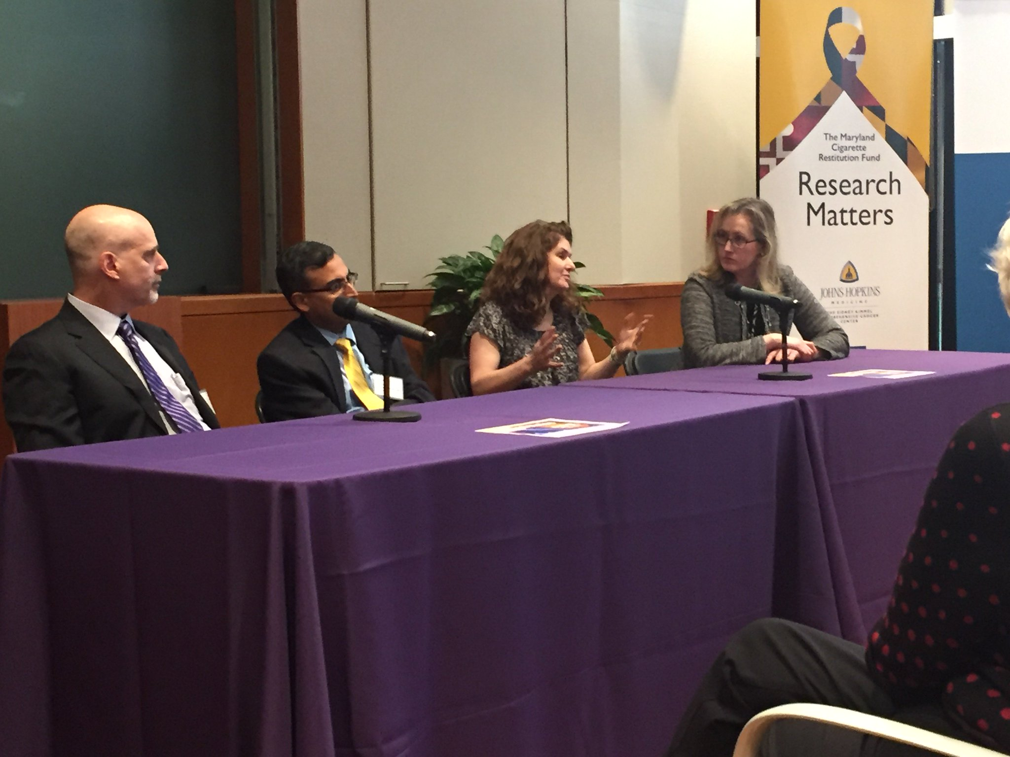 #ResearchMatters panelists answer questions https://t.co/PFFN25d3Ct