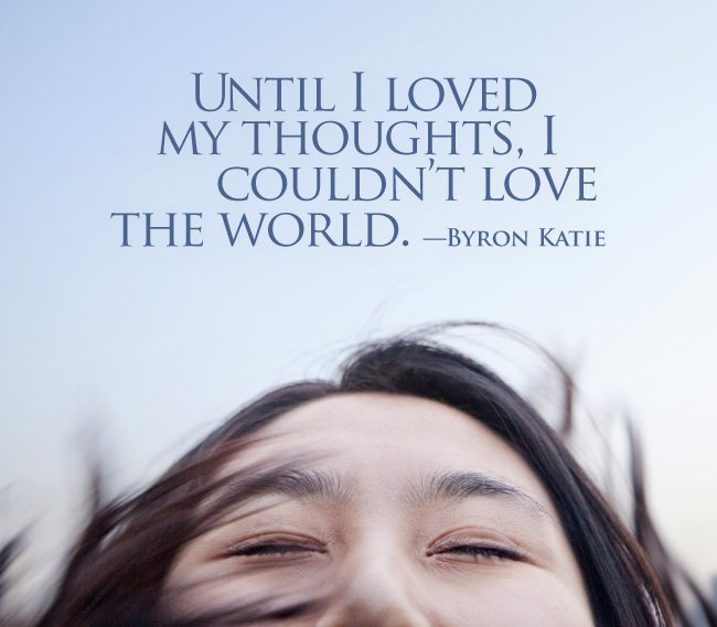 """Byron Katie Quotes Simple Byron Katie On Twitter """"until I Loved My Thoughts I Couldn't"""
