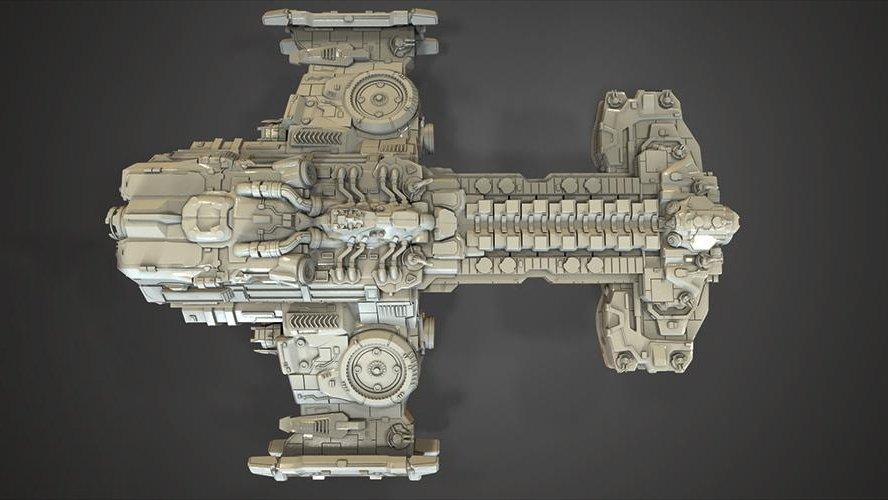 Teacher 3D Prints Massive StarCraft Hyperion Battlecruiser https://t.co/KWKJCzjQCN #wow https://t.co/yIn2ruwO9x