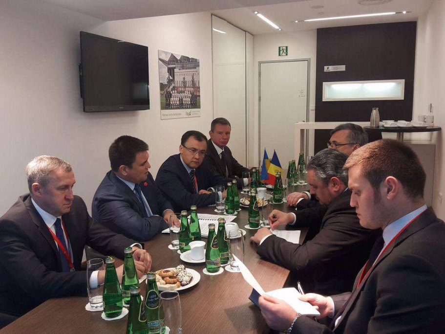 Meeting of Klimkin and foreign Minister of the Republic of Moldova:the parties confirmed mutual support of territorial integrity of Ukraine and Moldova