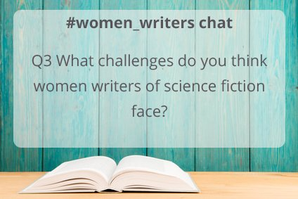Q2 Which #sciencefiction titles by #women_writers are you most looking forward to reading next? https://t.co/wDqUsfvmLO