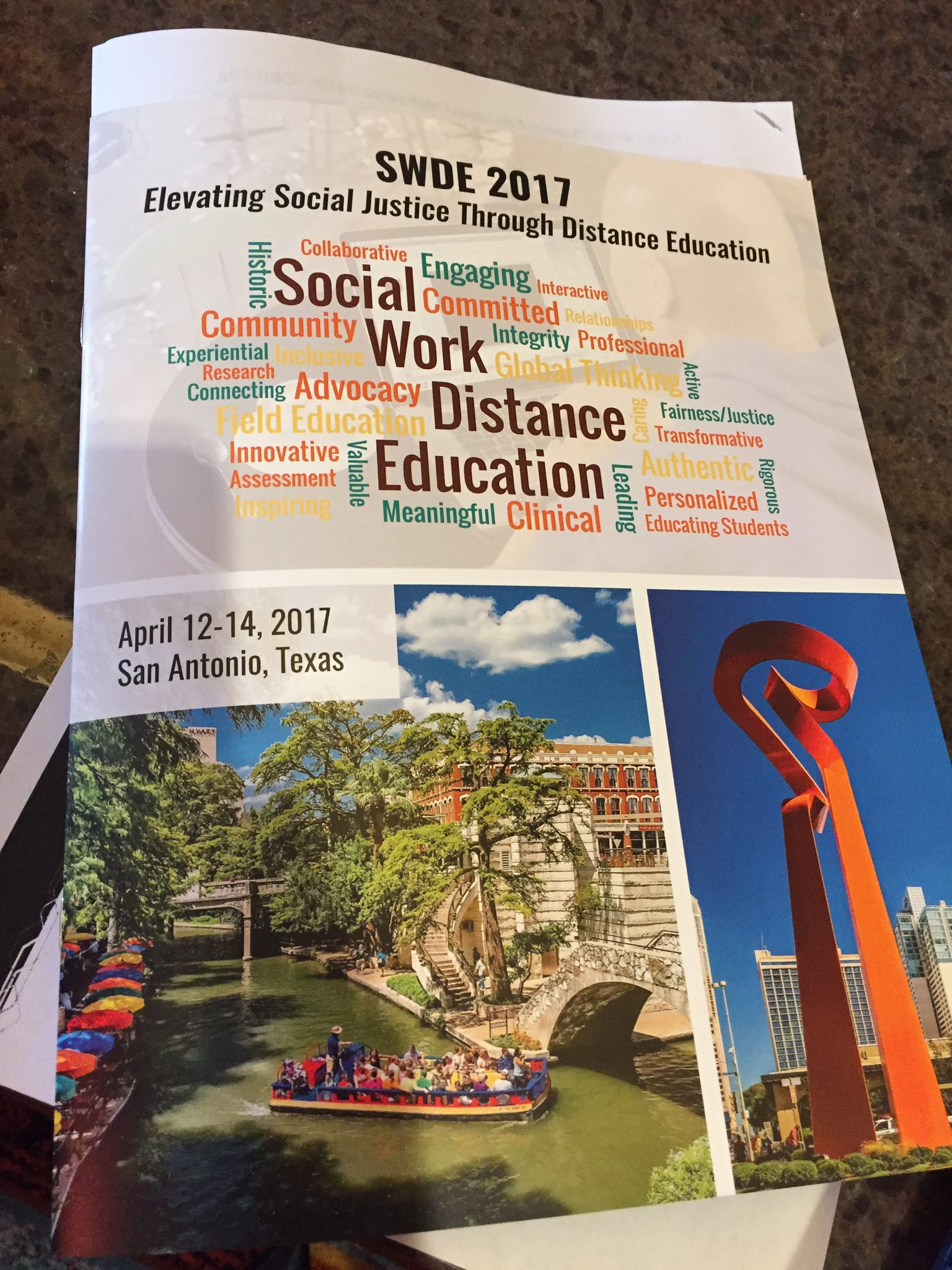 #SWDE2017  All checked in for an exciting 3 days of learning & networking about my 2 favorite topics! https://t.co/c0zjTYmsVG