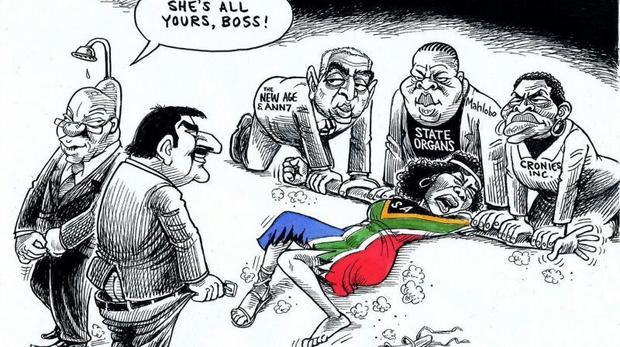 Thumbnail for Socila media lashes out at Zapiro cartoon