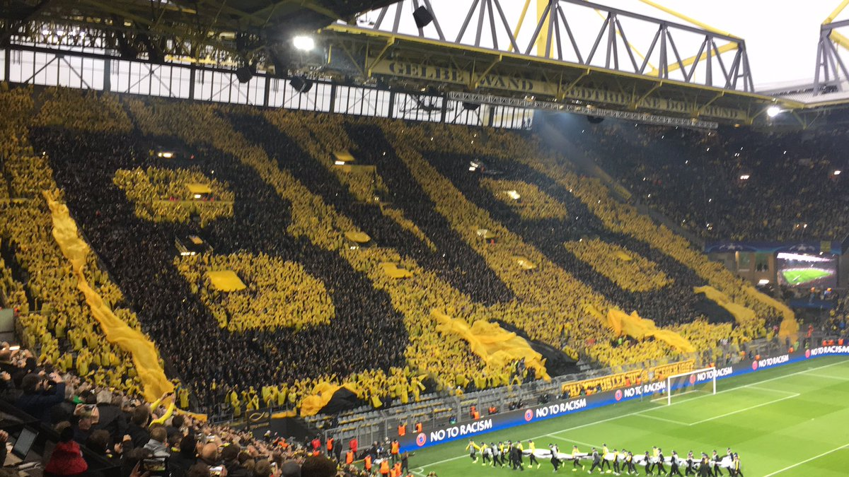 Archie Rhind Tutt On Twitter How Dortmund S Yellow Wall Will Look Today Phwoar
