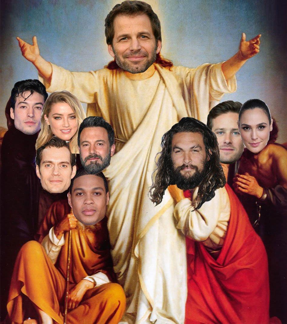 "Actors Ben Affleck Amber Heard Henry Cavill And Jason: Zack Snyder On Twitter: ""#JusticeLeague #UniteTheLeague"