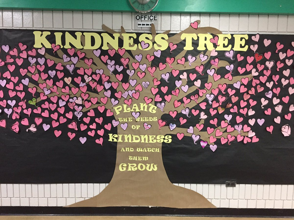 Kindness Tree Display Pictures To Pin On Pinterest Pinsdaddy