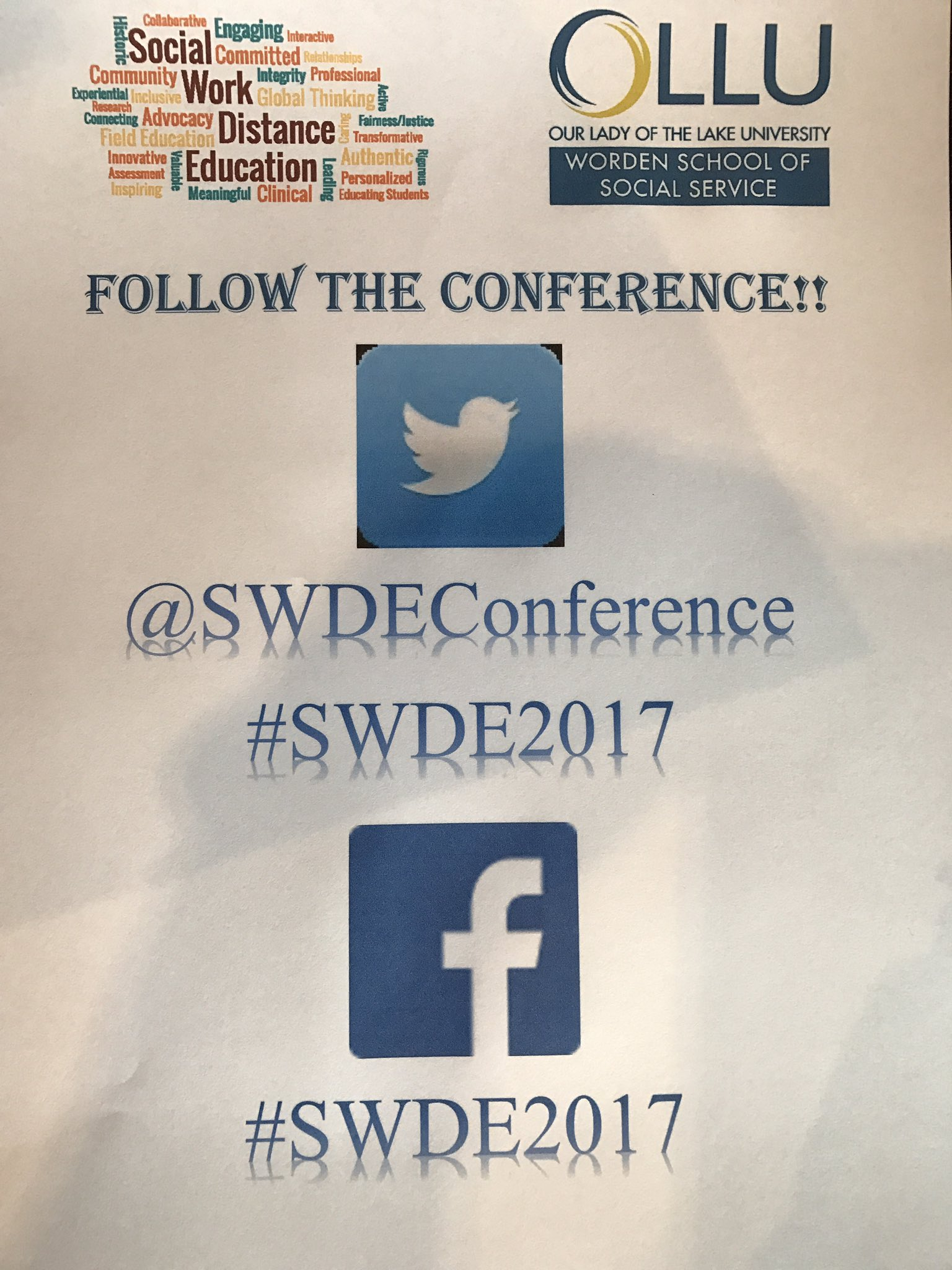 Don't forget to Tweet #SWDE2017 https://t.co/C4eaZmMDft