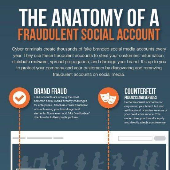 fake account social media scam