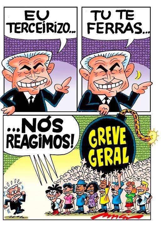 Prepare-se dia 28 de abril, greve geral! #28éluta #28A #diadeluta #nenhumdireitoamenos 🇧🇷