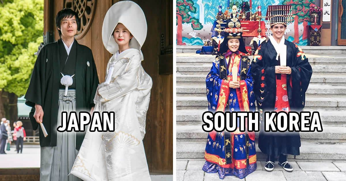 "Take A Look At Traditional Wedding Outfits From Around The: 9GAG On Twitter: ""This Is What Traditional Wedding Outfits"