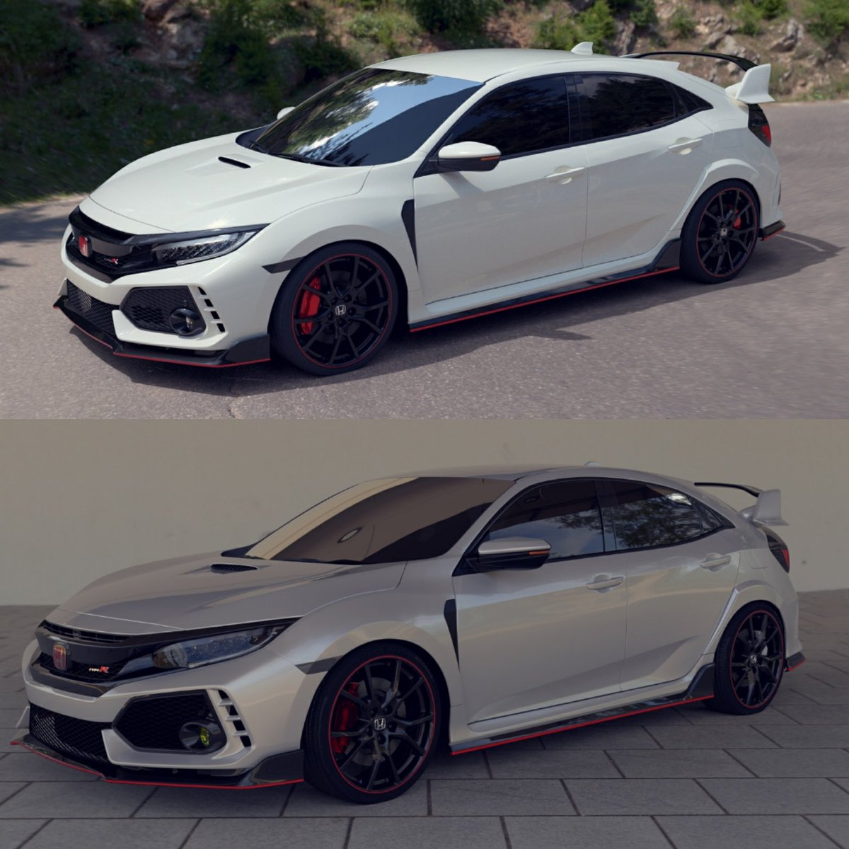 civic type r owners on twitter white or silver fk8. Black Bedroom Furniture Sets. Home Design Ideas