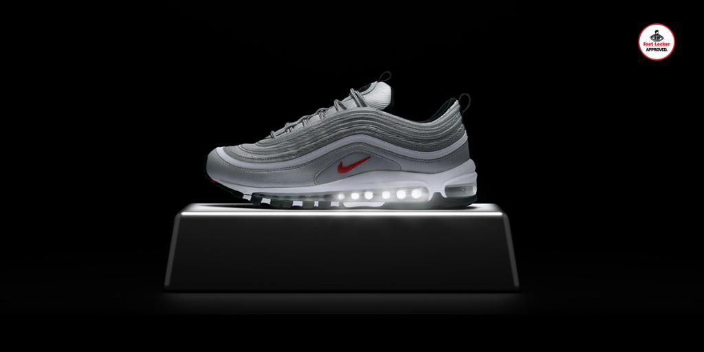 Nike Air Max 97 'Silver Bullet' drops