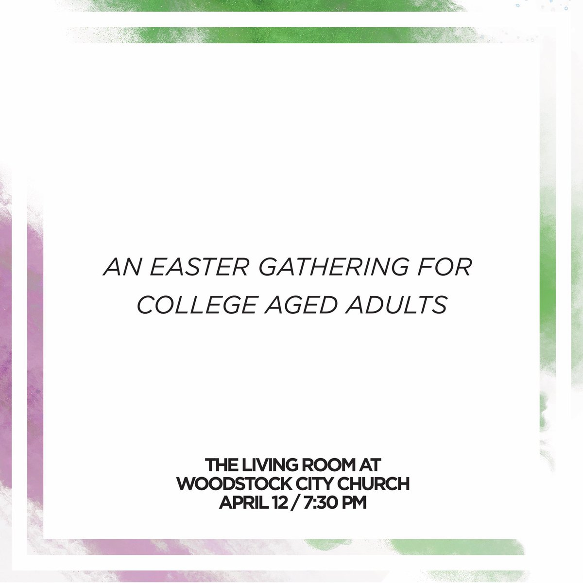 The Living Room KSU On Twitter Come Celebrate Easter With Us Tonight At TLR Dinner Starts In 2 Hours Pizza