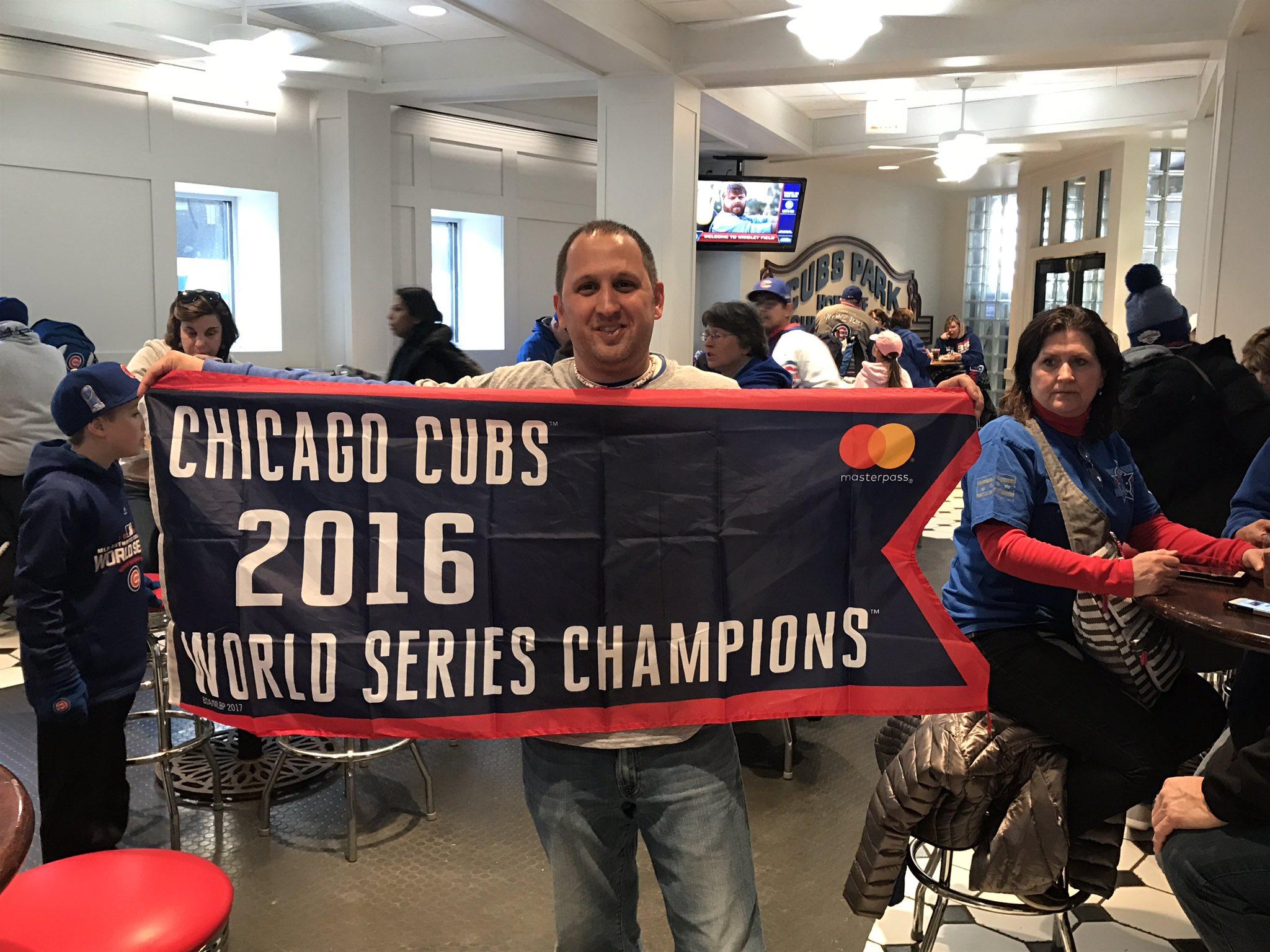 It Happened #Cubs fans! https://t.co/Q7VnV9L3oj