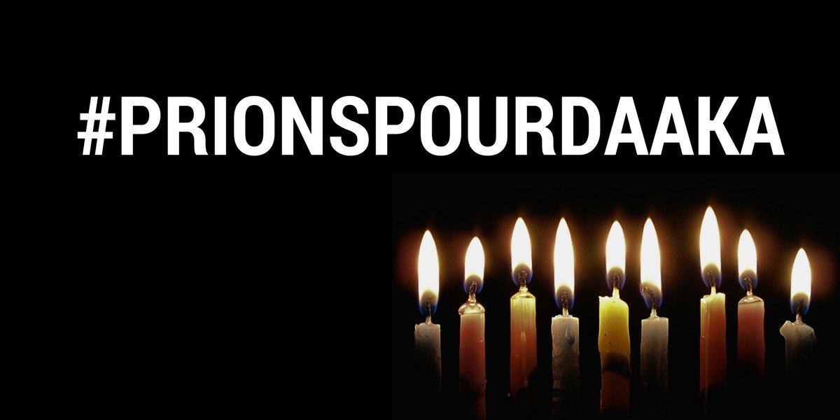#PRIONSPOURDAAKA , une pensée très pieuse aux familles des victimes #Kebetu #Senegal #Team221 https://t.co/1EcI1TqCgq