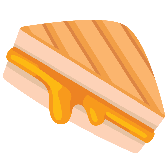Image result for grilled cheese emoji