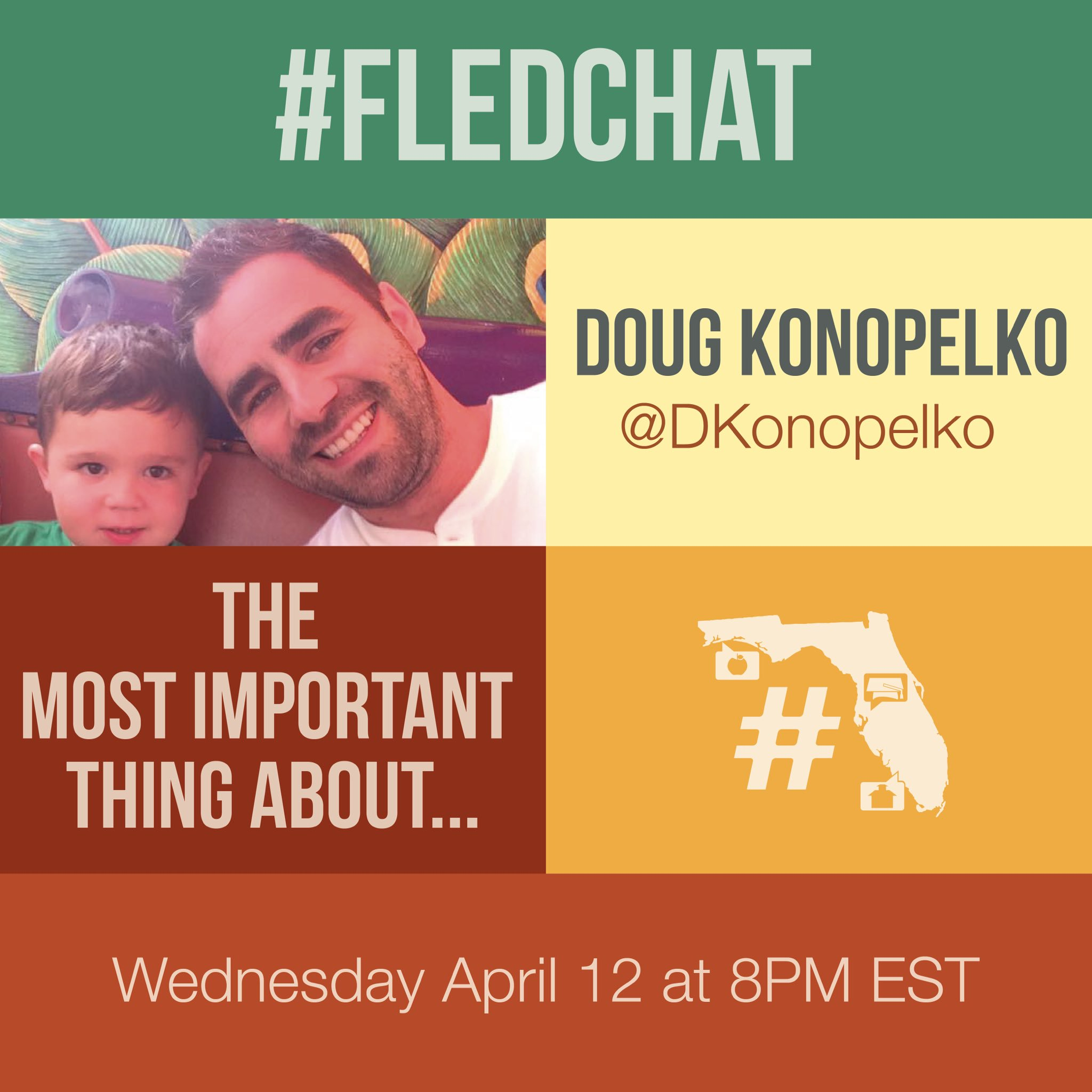 T-Minus 90 minutes until this week's #FLEdChat where we discuss The Most Important Thing About... https://t.co/LHaZF1EaJm