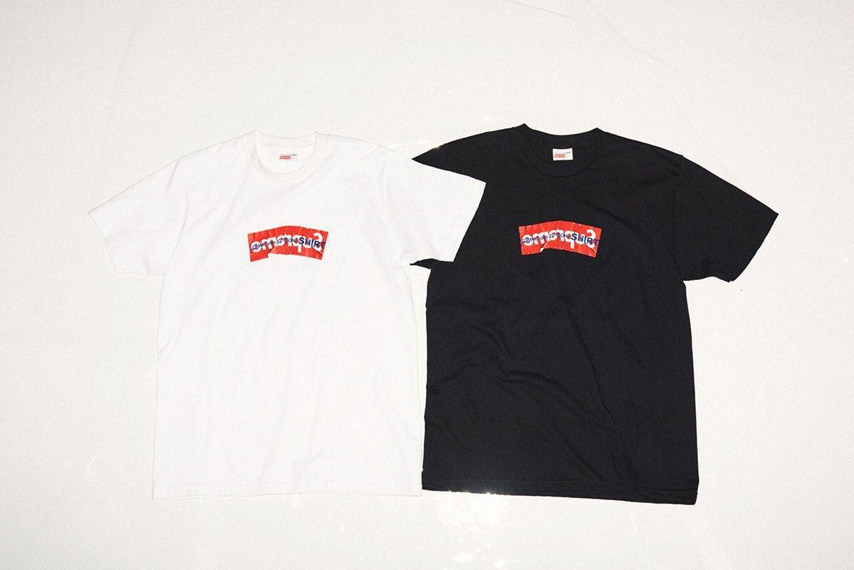 c996be1461dd Supreme x Comme des Garçons - Box Logo Tee Retail: ~ £40 / $50 Estimated  Resale: $270 - 320 #BetterProxiespic.twitter.com/F9NQpEQUcU