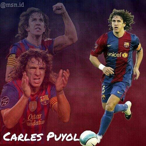 """Happy Birthday \""""El Capita\"""" Carles Puyol."""