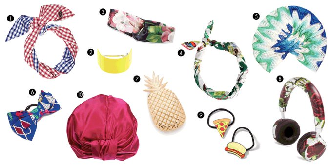 10 Hair Accessories for When It's Too Hot to Deal