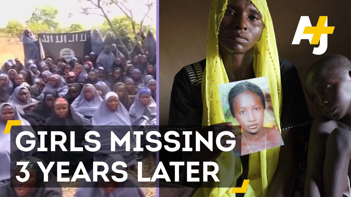 Some 200 schoolgirls have been missing for 3 years. Where's the international outcry?