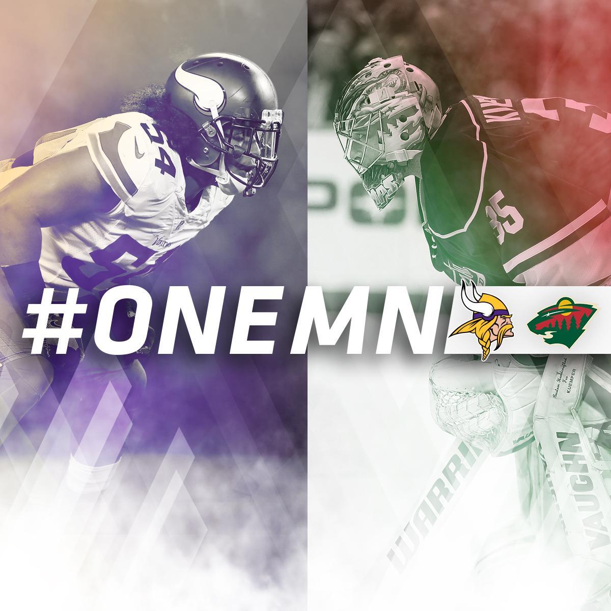 Good luck during the playoffs, @mnwild! #OneMN