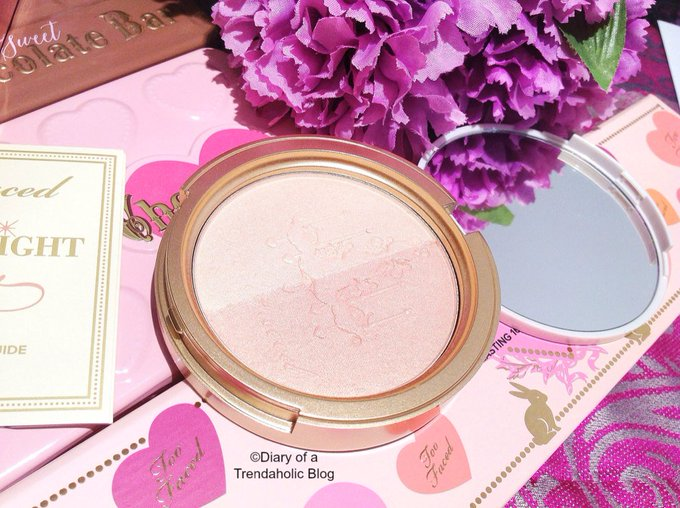 Too Faced Candlelight Glow Highlighting Powder Duo Review