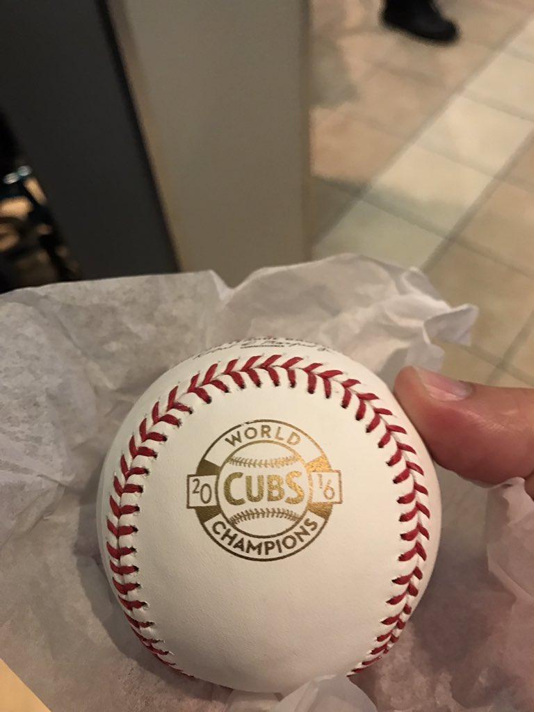 It happened! #Cubs https://t.co/O1l6qbrJ9j