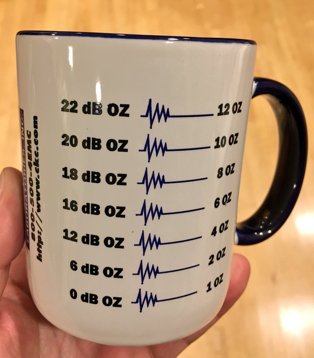Coffee cup for RF nerds. https://t.co/yfFYNd94zN