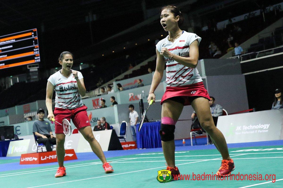 Anggia/Ni Ketut Pastikan All Indonesian Final di Belanda Terbuka 2017