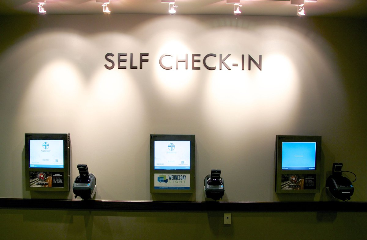 Tap check-in online
