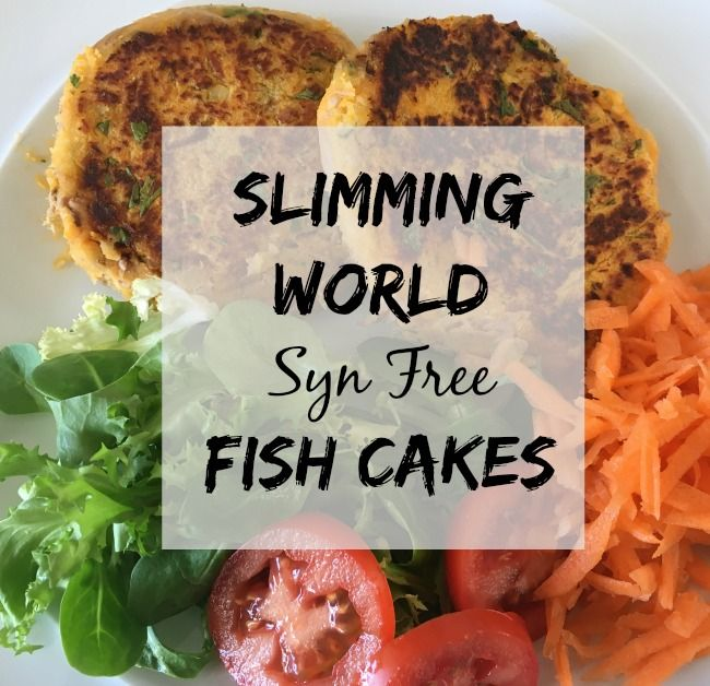 Slimming World Fish Cakes Recipe