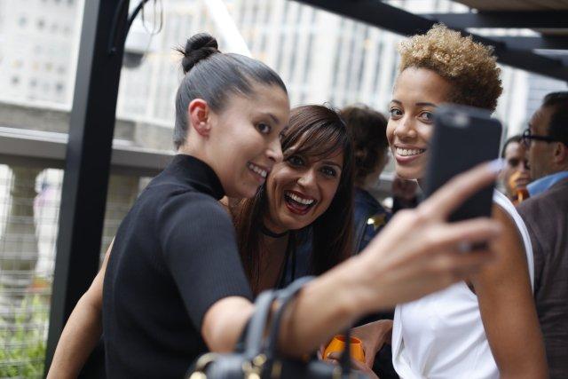 Designers Toast Saks Fifth Avenue Terrace Opening