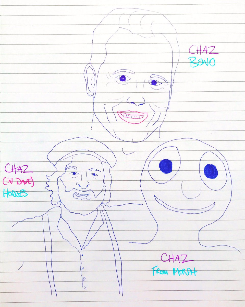 Chaz Bono, Chas Hodges &amp; Chas from Morph   #chazbono #chasndave #chaz #chas #chashodges #morph @ChazBono<br>http://pic.twitter.com/IAWsQgg4se
