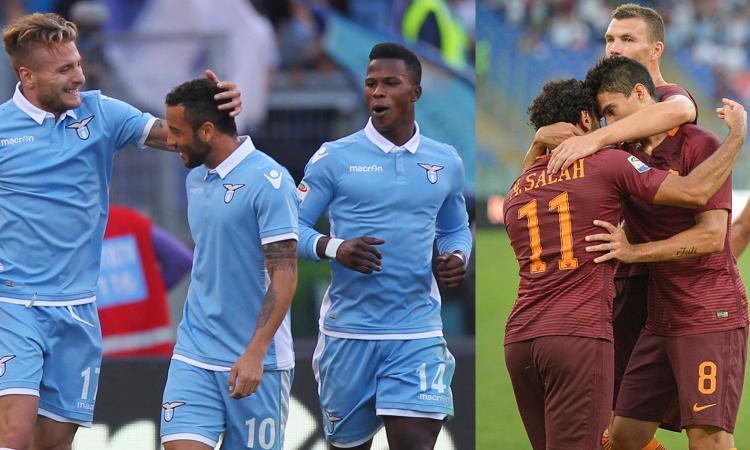 Diretta ROMA LAZIO Serie A Streaming gratis: dove vederla Oggi Derby 30 Aprile 2017