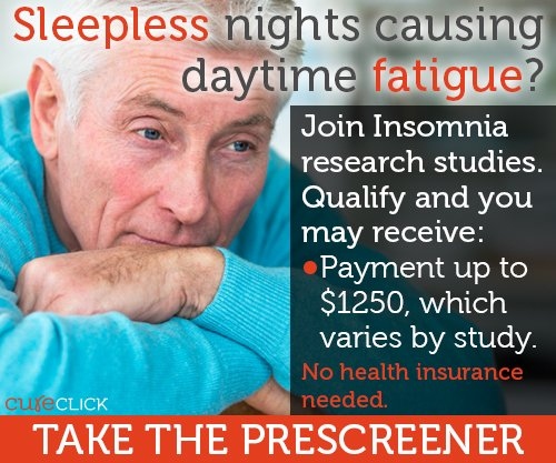#Insomnia keeping #sleep away? Join a research study! Earn up to $1250, varies by study. https://t.co/WQesngIMkU https://t.co/XipnykmCgM
