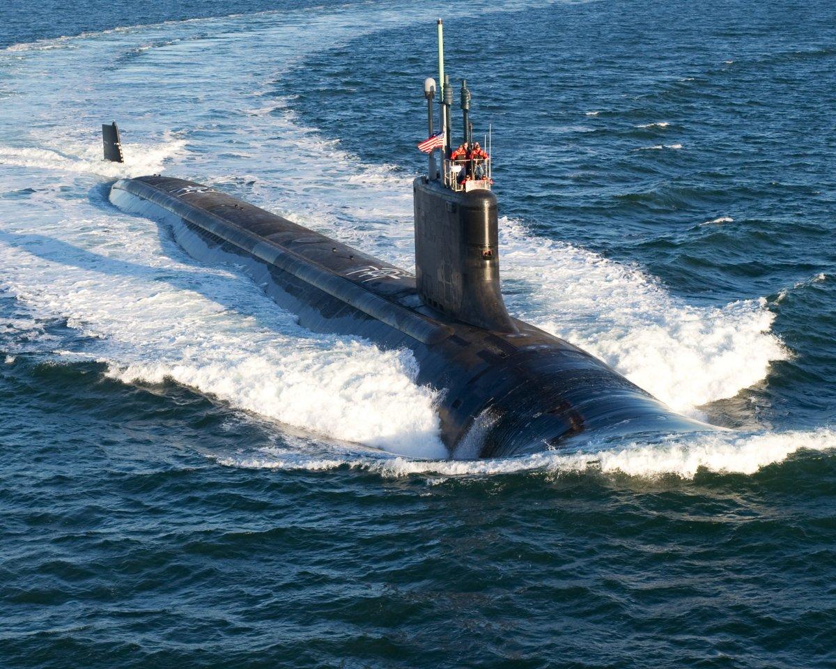бой между подводными лодками