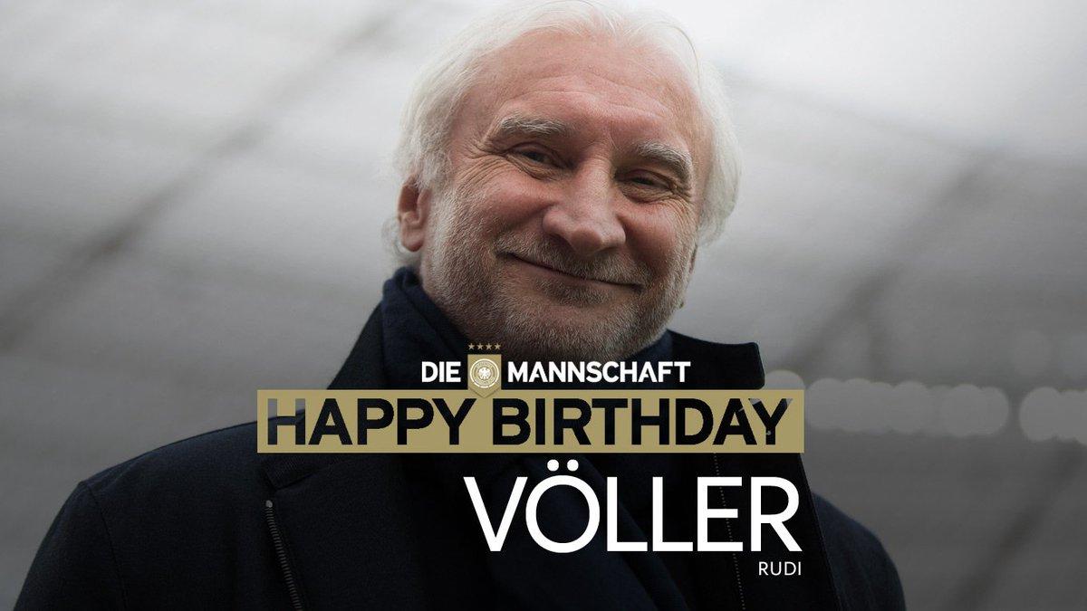 Die Mannschaft Na Twitteru Alles Gute Zum 5 7 Geburtstag Rudi Voller Weltmeister Diemannschaft Bayer04fussball