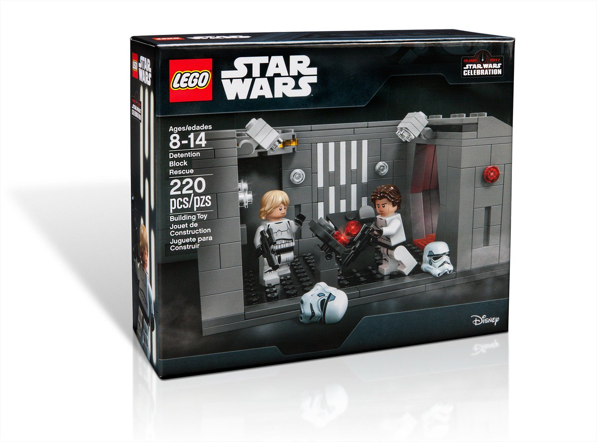 RT for a chance to win a LEGO @StarWars...