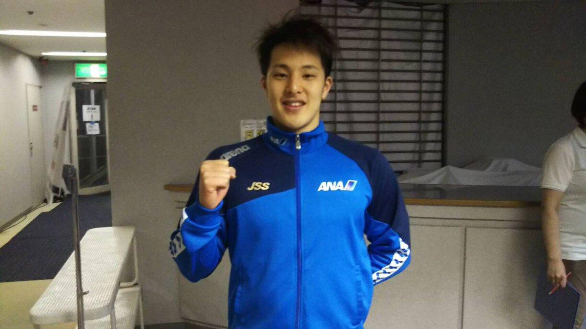 "萩野公介 Update: Going! Sports&News On Twitter: ""【競泳】瀬戸大也選手が日本選手権400m"