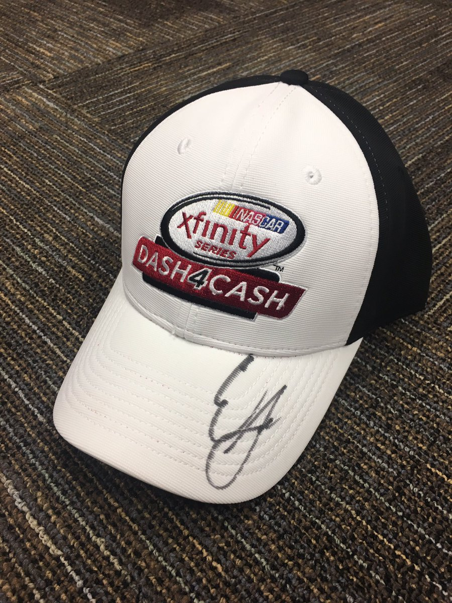 Retweet and follow us for your chance to win this @erik_jones autographed @XFINITYRacing hat!    #EasterGiveaway https://t.co/bKrGaaHXSI