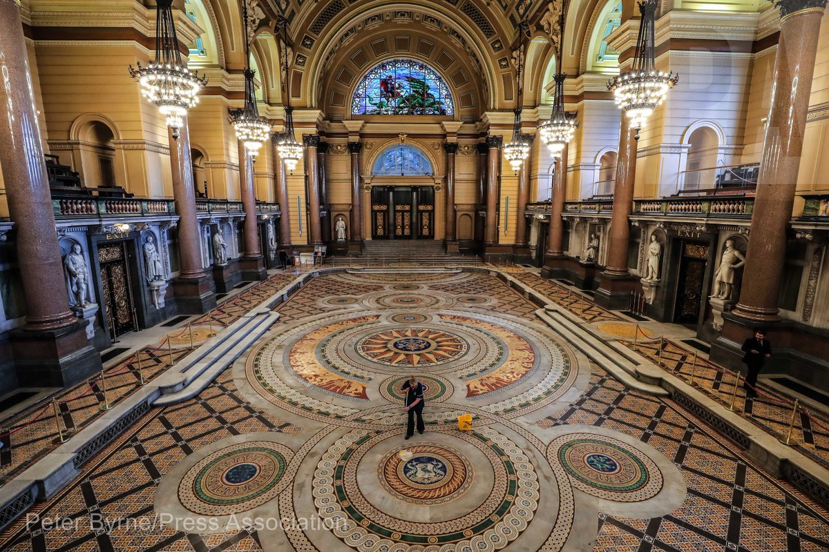 Peter Byrne On Twitter Minton Floor Tiles Laid In The 1850s But