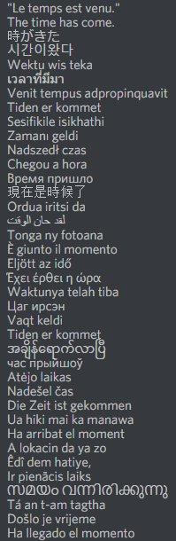 @jeanlassalle Si vous souhaitez vous exporter à l'international, j'ai traduit votre slogan dans plein d'autres langues. #JLassalle2017 pic.twitter.com/cn9r6lewFt