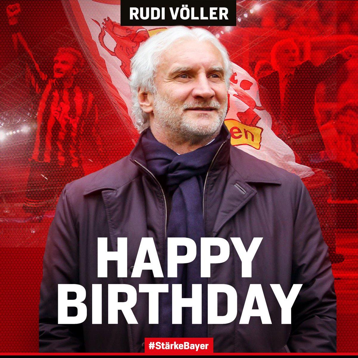 Bayer 04 Leverkusen On Twitter Vor 23 Jahren Als Spieler Begonnen Jetzt Sportdirektor Mit Im Herzen Alles Gute Zum 57 Geburtstag Rudi Voller Https T Co Yleexzguoi