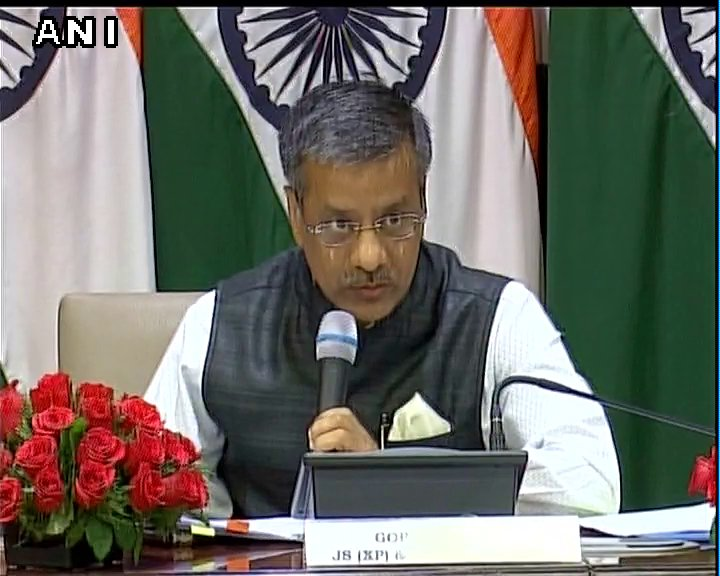 Pakistan has not shared with us till now any details of Kulbhushan Jadhav 's location or how he is: Gopal Baglay, MEA