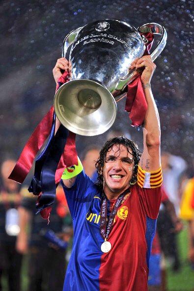 Happy Birthday Carles Puyol yang ke 39 tahun. Happy Birthday Captain!