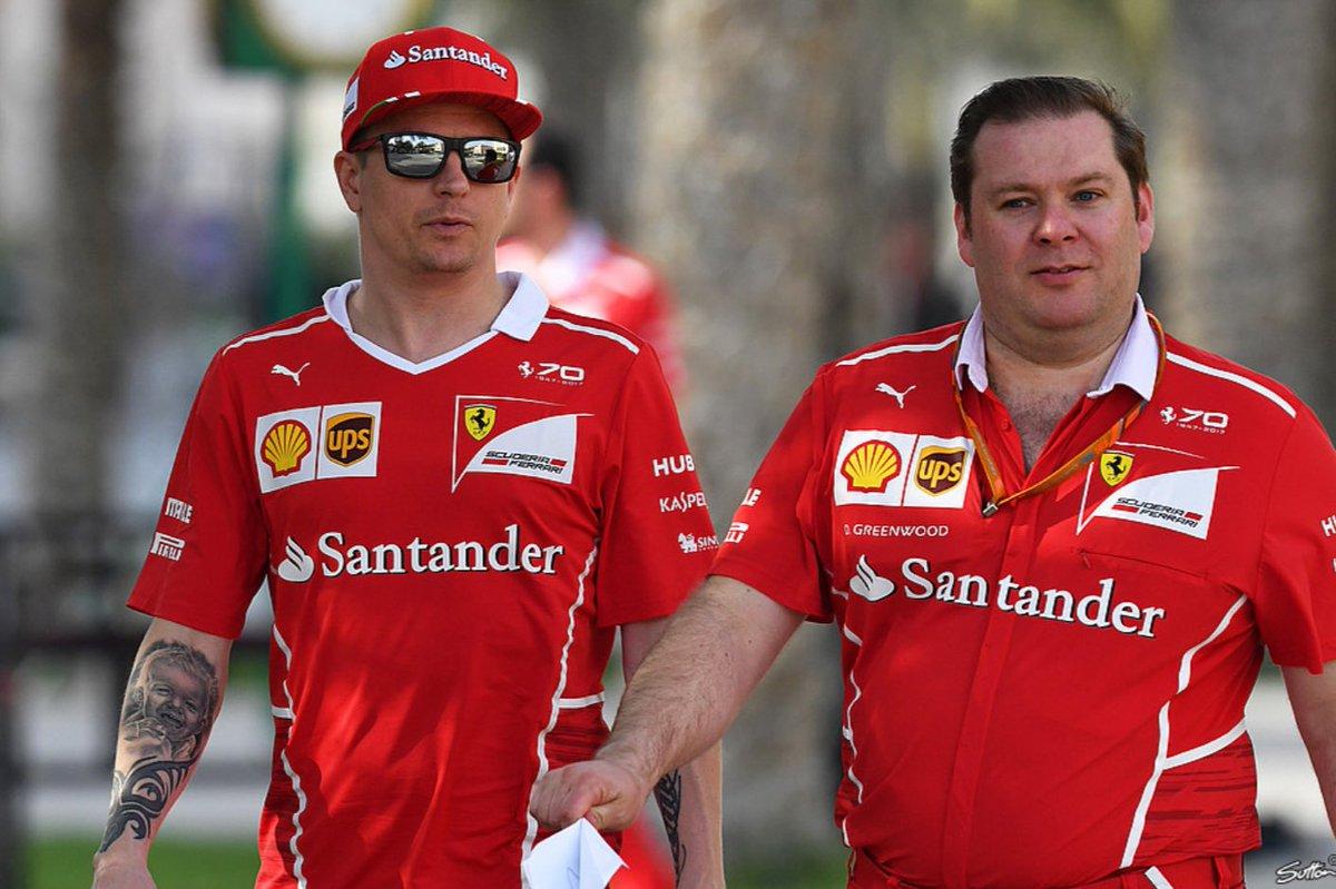 Dave Greenwood is no longer Kimi's race engineer