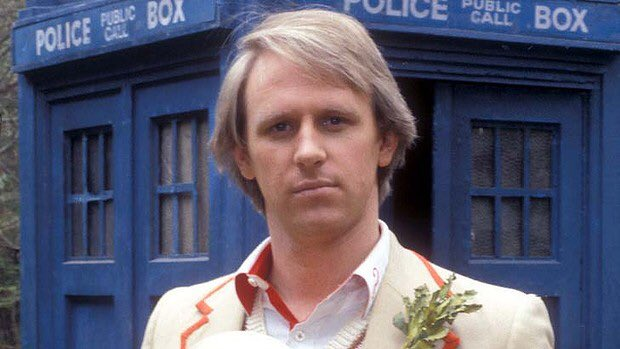 Happy 66th Birthday to the wonderful, Peter Davison - The Fifth Doctor