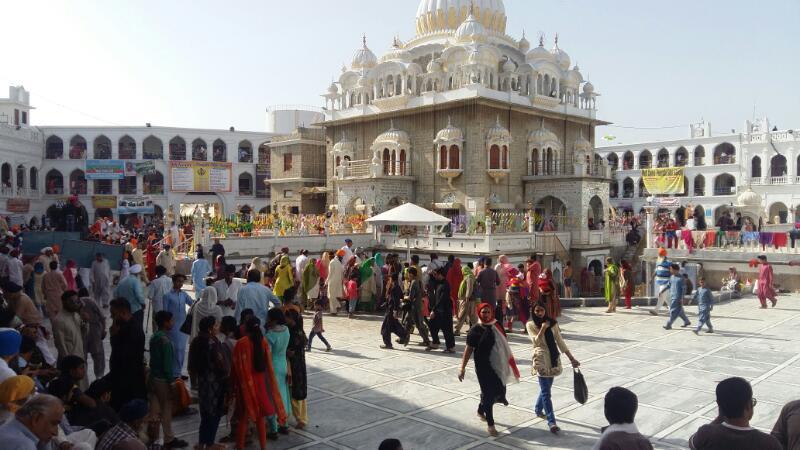 Vaisakhi celebrated at Gurdwara Panja Sahib in Hasan Abdal area of Pakistan